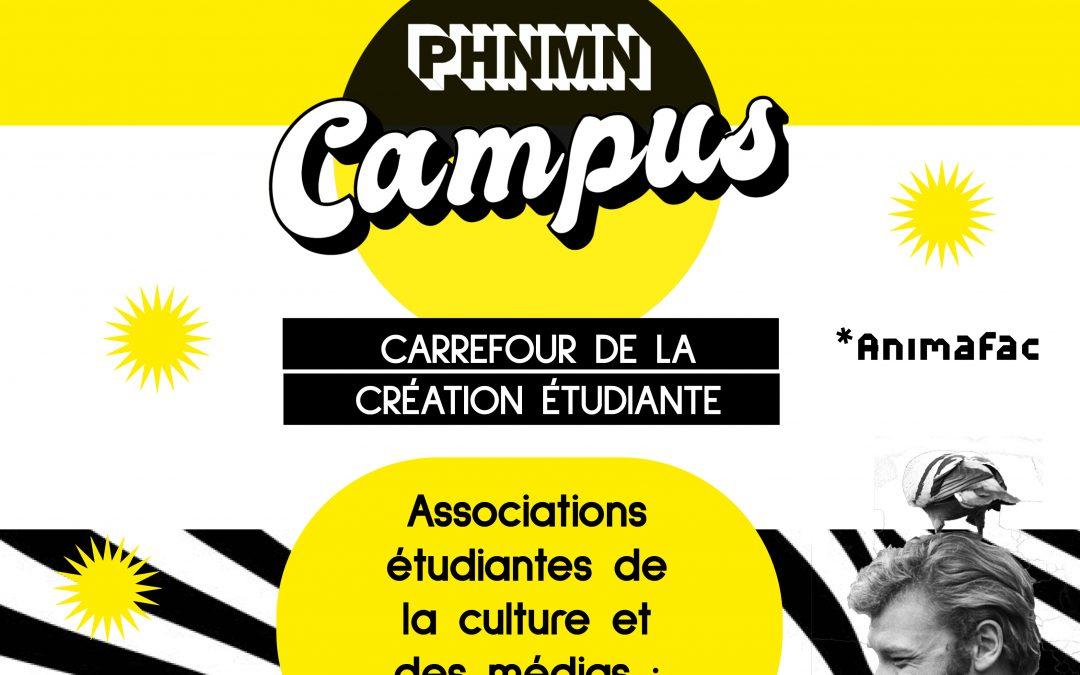 PHNMN Campus : associations étudiantes, participez !