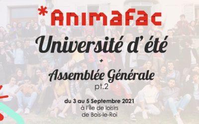 Candidature de Phénomène au Conseil d'administration d'Animafac